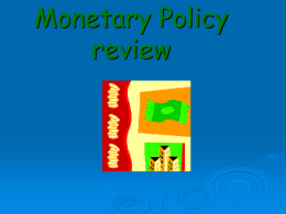 12/14 Monetary Policy review ppt
