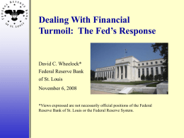 Power Point ( 3.4M ) - St. Louis Fed