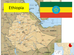 Note on Ethiopia