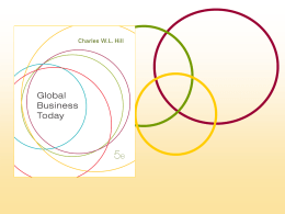 Global Business Today, 5e