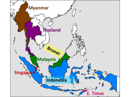 East & Southeast Asia: An Overview