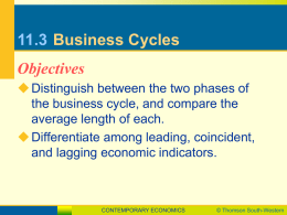 11.3 Business Cycles