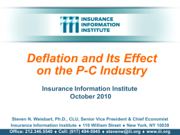 P6466 - iii Template - Insurance Information Institute