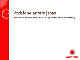 vodafone powerpoint template | studyslide, Presentation templates