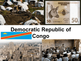democraticrepublic of the congo pp notes