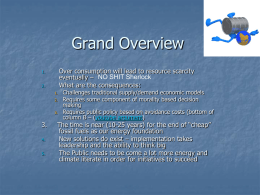 Grand Overview