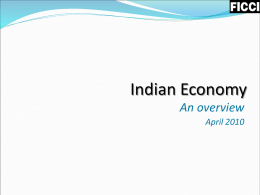 State of Indian Economy