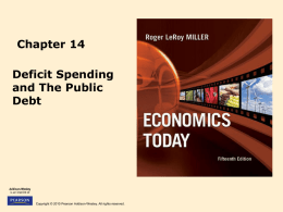 Deficit Spending and the Public Debt