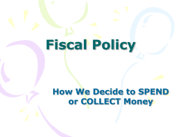 Fiscal Policy - KHarrisFriendly