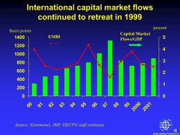 Trends in Capital Flows