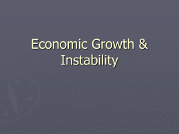 Economic Growth & Stability