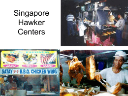 Singapore Hawker Centers