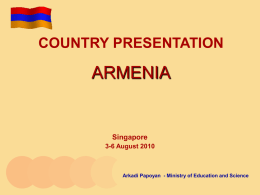 Community Action in Armenia