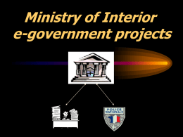 03e-government projects in France
