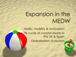 Expansion in the MEDW