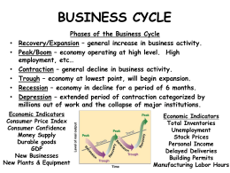 BUSINESS CYCLE, FEDERAL RESERVE, TAXATION