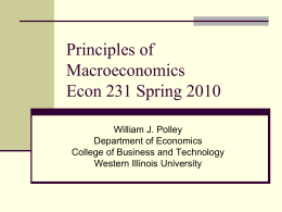 econ231_2 - William J. Polley