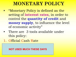 OFFICIAL CASH RATE HOW DOES IT WORK?