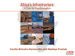 - Africa Infrastructure Knowledge Program