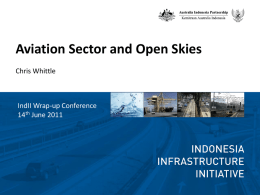 Implementation of ASEAN Open Skies Policy