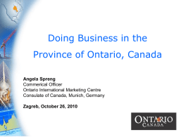 Ontario International Marketing Centre