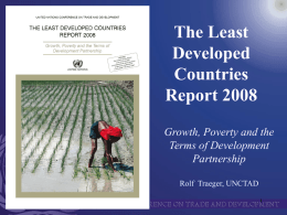 Growth in LDCs