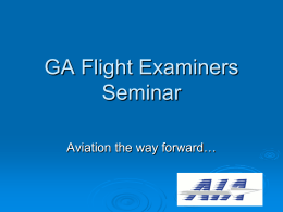 AIA Update - Civil Aviation Authority of New Zealand