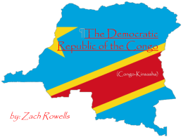 The Democratic Republic of the Congo (Congo-Kinsasha)