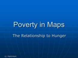 Poverty in Maps