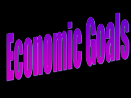US economic goals