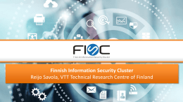 Finnish Information Security Cluster
