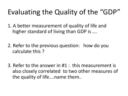 Ch 22 Weakness of GDP ppt