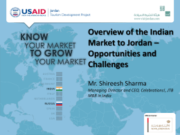 Country Report INDIA - USAID Jordan Knowledge Management Portal