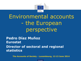 Implementing SEEA in Europe - European Commission