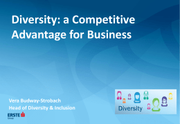 Diversity - People Management Forum
