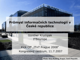 Overview on the Czech ICT Industry