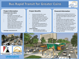 Cairo BRT powerpoint for GIB 150518x