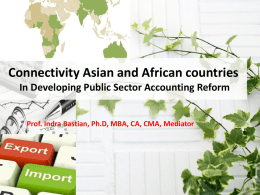 Connectivity Asian and African countries In Developing Public