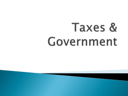 taxes _ governmentx
