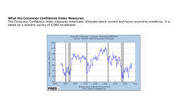 What the Consumer Confidence Index Measures: The Consumer
