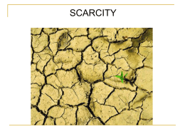Scarcity - TeacherWeb