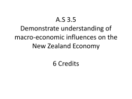 AS 3.5 Demonstrate understanding of macro