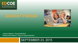 budget forum - Amazon Web Services