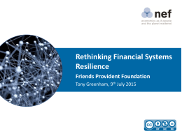 3. Financial System Size - Friends Provident Foundation
