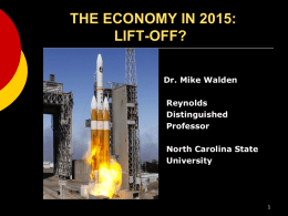 NC Economic Outlook