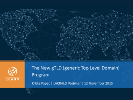 New gTLD Stories