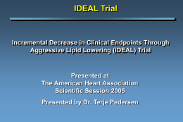 ideal - Clinical Trial Results