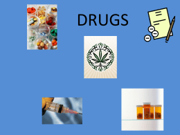 Drugs - Methacton School District