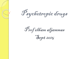 Antidepressants and neuroleptic
