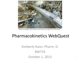 Pharmacokinetics Powerpoint